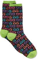 Hot Sox Women's Glasses Socks