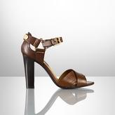 Ralph Lauren Laicee Vachetta Buckled Sandal