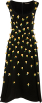 Zac Posen Honeycomb Cocktail Dress