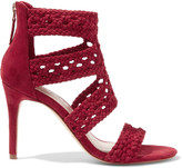 Sandro Agate woven suede sandals