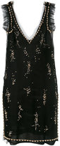 MSGM sequined mini dress - women - Viscose/Polyimide - 40