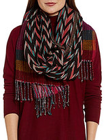 Echo Ziggy Striped Wrap Scarf