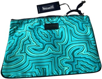 Vilebrequin Turquoise Cloth Travel bags