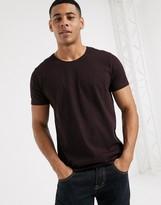 Esprit basic stripe t-shirt in red