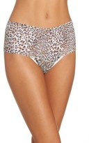 Hanky Panky Women's Print Lace High Waist Thong
