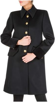 Alberta Ferretti Military Coats