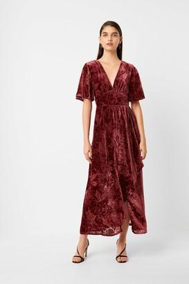 French Connection Hanna Velvet Maxi Dress