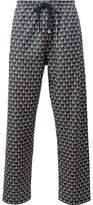 Gucci geometric print jogging pants