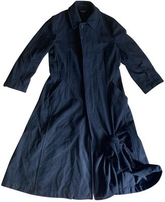 Comme des Garcons Black Wool Coats