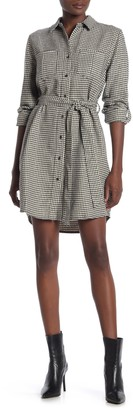 Velvet Heart Anita Button Down Houndstooth Dress