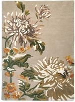 Marks and Spencer Pure Wool Painterly Floral Rug