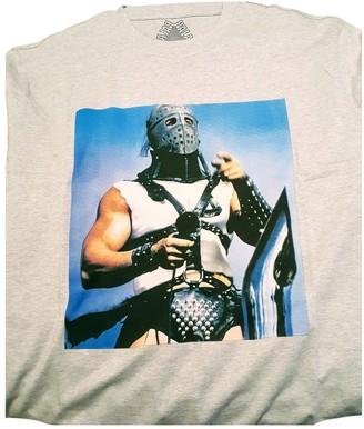 Palace Grey Cotton T-shirts
