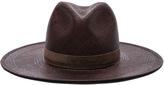 Janessa Leone Mallary Short Brimmed Panama Hat