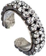 John Wind Maximal Art Silver Rhinestone Cuff