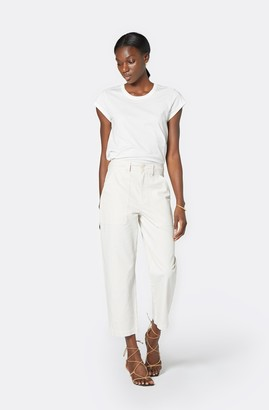 Joie Larkin Cropped Cotton Pant