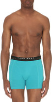 HUGO BOSS Pack of two stretch-cotton trunks