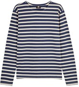 Ps By Paul Smith Striped Cotton Top