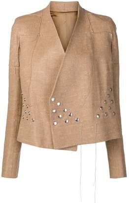 Rick Owens studded jacket