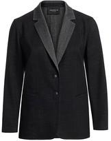 Lafayette 148 New York Lafayette 148 New York, Plus Size Rozella Stretch Virgin-Wool Jacket
