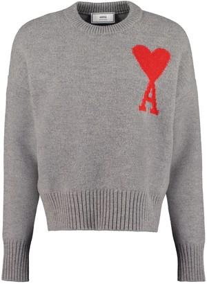 Ami Alexandre Mattiussi Virgin Wool Sweater