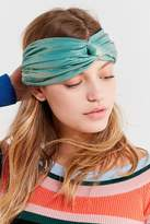 Urban Outfitters Metallic Twist Headwrap