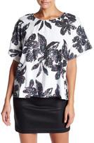 Ark & Co Sequin Floral Blouse