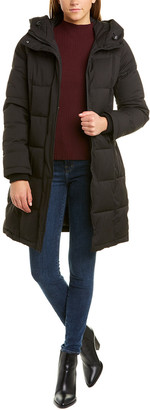 Sam Edelman Hooded Puffer Coat