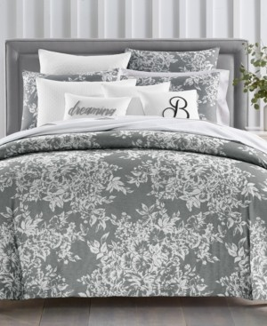 Charter Club Closeout! Damask Designs Woven Floral Cotton 300-Thread Count 2-Pc. Twin Duvet Set, Created for Macy's Bedding