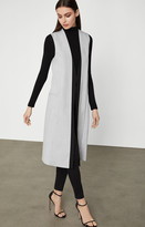 BCBGMAXAZRIA Long Cape Jacket