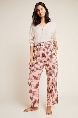 Anthropologie Doria Printed Sleep Trousers