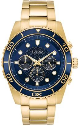Bulova Men's Quartz Bracelet Watch, 43mm
