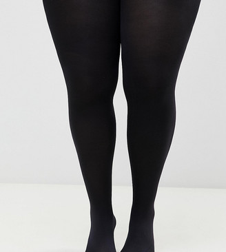 ASOS DESIGN Curve 200 denier black tights