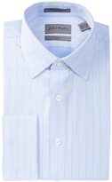 John W. Nordstrom Trim Fit Herringbone Dress Shirt