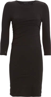 ATM Anthony Thomas Melillo Ruched Pima Cotton Jersey Dress