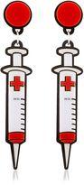 Yazbukey Syringe Earrings