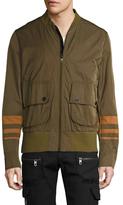 Diesel Black Gold Jinska-Patch Stand Collar Bomber Jacket