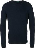 Zanone textured knit jumper