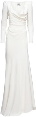 Vivienne Westwood Matte Viscose Crepe Satin Dress