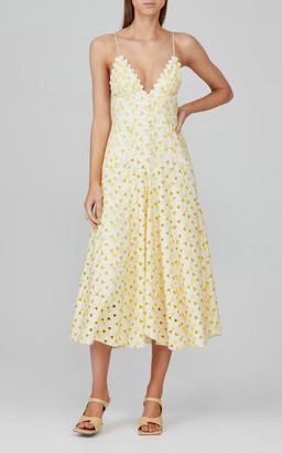 Acler Stanton Cotton-Broderie Dress