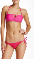 Volcom Simply Solid Strappy Bandeau Top