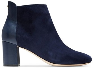 Cole Haan Nella Suede & Leather Ankle Boots