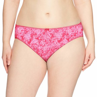 Elomi Women's Plus Size Kim Brief with Stretch Lace Insert