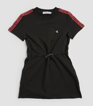 Calvin Klein Kids Logo-Tape Dress (4-16 Years)