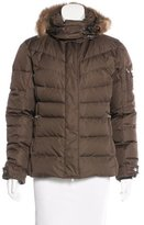 Bogner Fire & Ice Bogner Fur-Trimmed Puffer Jacket