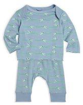 Stella McCartney Baby's Two-Piece Alligator Printed T-Shirt & Pants Set