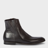 Paul Smith Men's Black Calf Leather 'Maurice' Boots