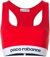 Paco Rabanne cropped sports bra top