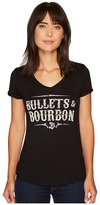 Rock and Roll Cowgirl Short Sleeve T-Shirt 49T3524 Women's T Shirt