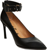 Ankle Strap Beak Toe Pump