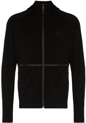Ermenegildo Zegna Technical taped seam hooded sweater
